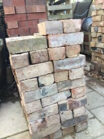 3 inch reclaim bricks