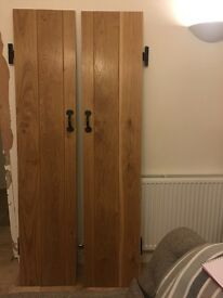 Double Push & Pull Solid Oak Internal Doors