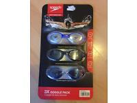 New in box speedo swimming goggles