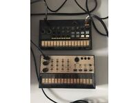KORG VOLCA KEYS AND DRUM MACHINE