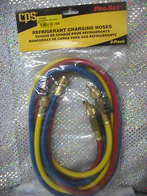 Cps Products Premium Charging Hoses 72 W Ball Valve