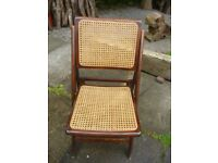 4 foldup chairs