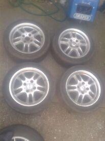 Dished Ronal 4x108 alloy wheels Ford Escort Focus Fiesta Citroen Peugeot