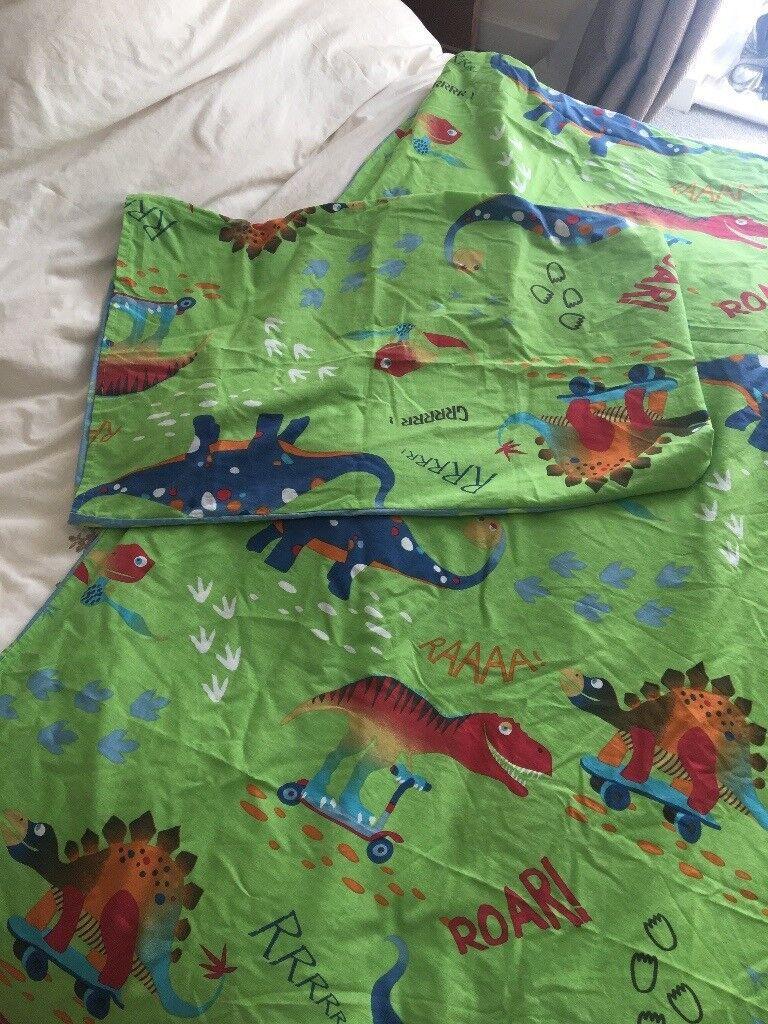 Boys dinosaur duvet cover