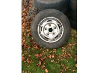 ford transit wheel and tyre 2005 year