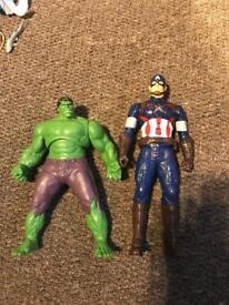 hulk & captain america
