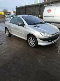 Peugeot 206 cc 2.0 petrol ( breaking full vehicle for parts)