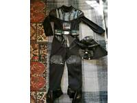 Fancy dress Darth Vader age 5-7