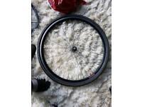 700c bike wheel and tyre