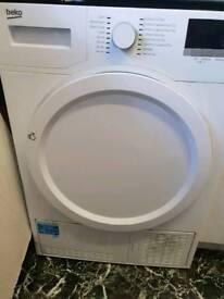 8kg beko condenser dryer