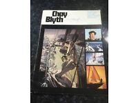 Chat Blyth brochure of unique voyage.