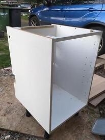 Kitchen sink unit 500mm wide free to collector