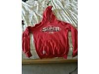 Small mens Superdry hoodie