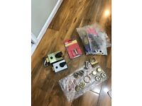 5 lever chubb lock and other items