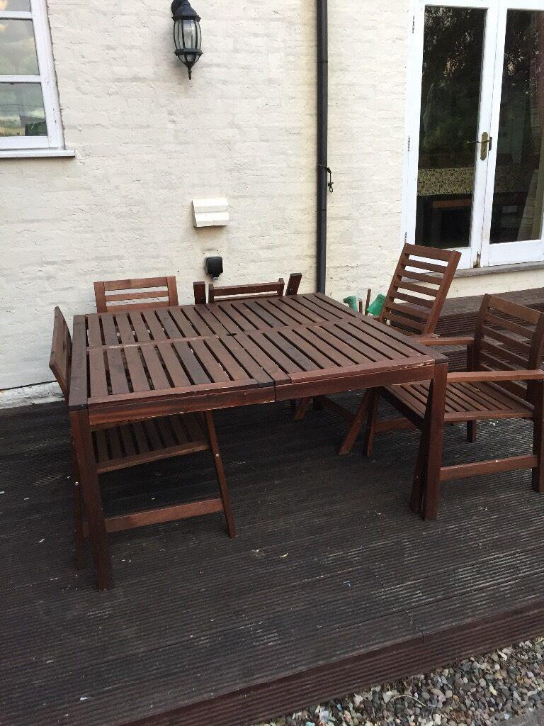 ikea applaro garden furniture set in worcester worcestershire gumtree. Black Bedroom Furniture Sets. Home Design Ideas