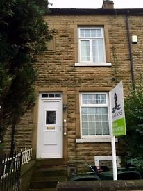 Very clean TWO double bedroom part-furnished house in safe residential area £95 p/w