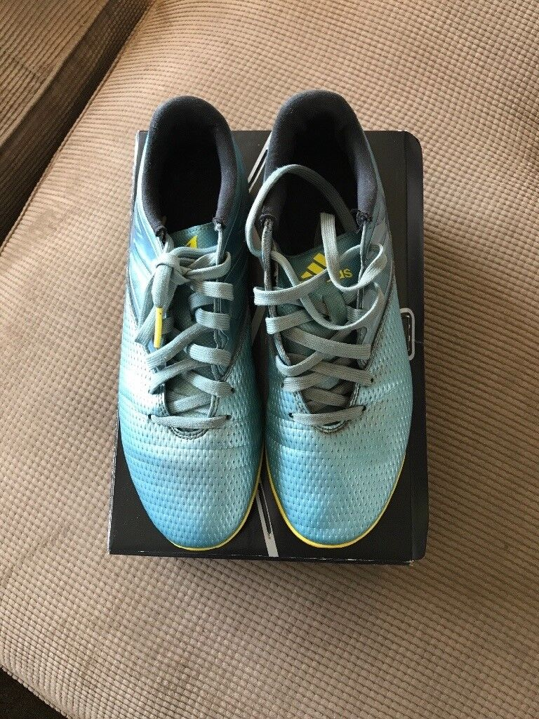 Adidas Astro turf trainers 15.3 Matt ice