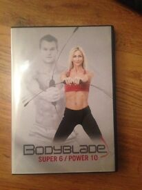 BODYBLADE training/muscle building/weight loss with DVD from QVC