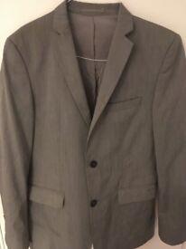 Zara Man Grey Blazer - Great Condition - Size: Euro 50