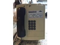 Solitaire pay phone