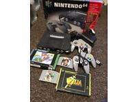 Nintendo n64 and 4 games. All working.