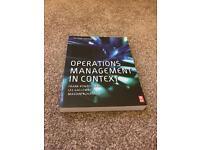 University business management student book