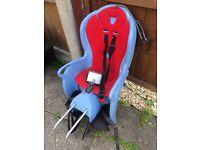 Bicycle toddler seat