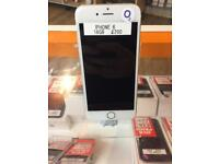 IPhone 6, o2, 16gb, silver, NO TOUCH ID