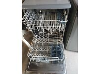 Hotpoint FDFF1110G Freestanding 60cm wide Dishwasher – Graphite