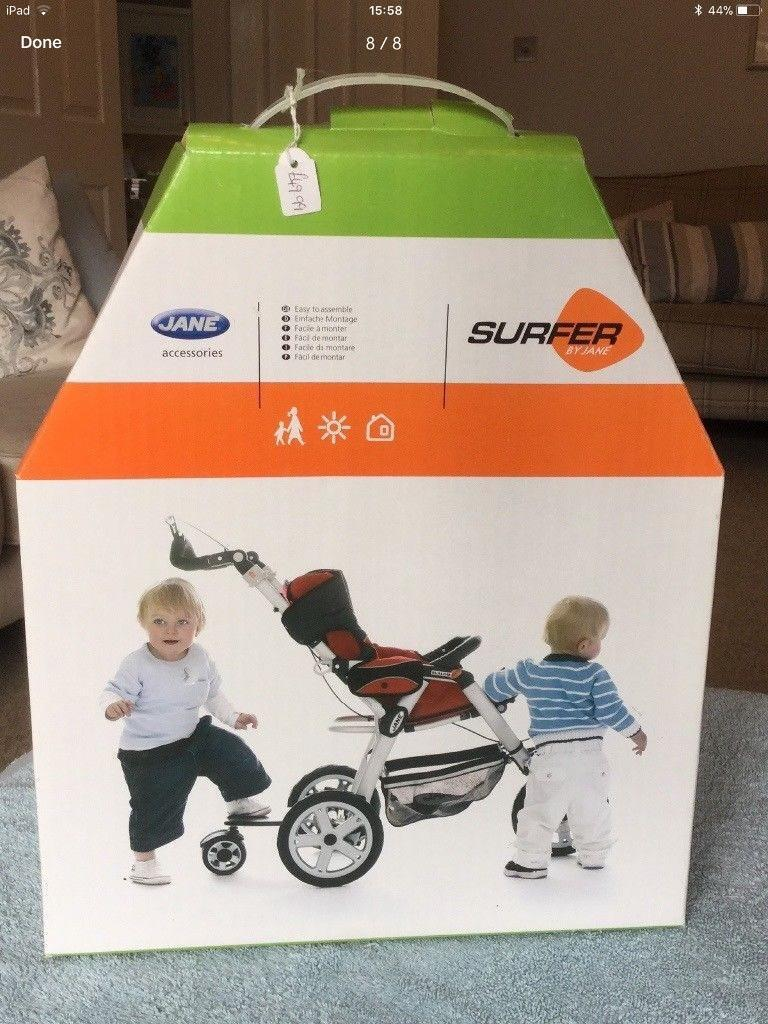 JANE SURFER BUGGY BOARD SYSTEM. Connectable to SLALOM/PRO/NOMAD/TWIN TWO