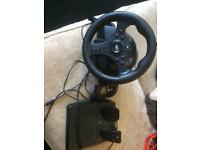 MadCatz steering wheel & pedals