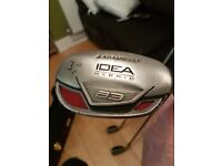 For sale Adams idea hybrid golf clubs 3,4,5