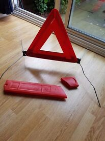 Warning Triangle...fold away with box
