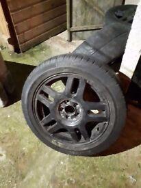 Volkswagen Golf S 4 alloy wheels