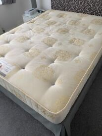 King size bed and orthopaedic mattress fantastic condition