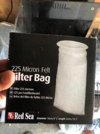 Redsea Filter bags £2 each or all 15 for