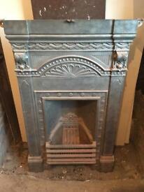 Edwardian Cast Iron Fireplace Surround