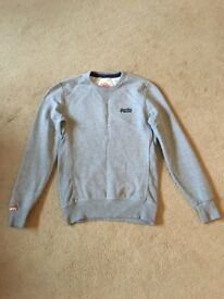 Mens Superdry Sweatshirt - Grey