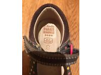 Clarks first shoes - size 4.5 F EUR 20.5 M