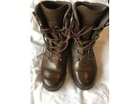 British Army issue Haix Boots size 10 in great condition