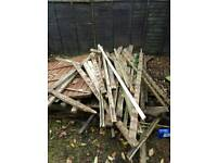Fire wood for bonfire night
