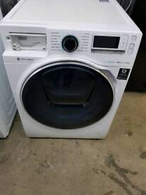 SAMSUNG 12 AddWash WW12K8412OW/EU Washing Machine - White