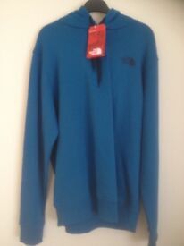 North Face Banff Blue Pull over Hoodie