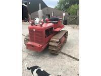 International crawler tractor