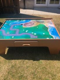 Children's Train/play table