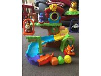FOR SALE - VTECH BABY TOOT-TOOT ANIMALS TREE HOUSE PLUS 5 ANIMALS