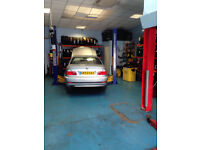 Well established garage and mobile mechanic business for sale.