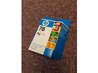 HP 78 genuine new cartridge