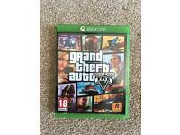 Grand Theft Auto Five on Xbox One