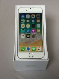 Iphone 6 64gb - gold - with box - unlocked - mint condition